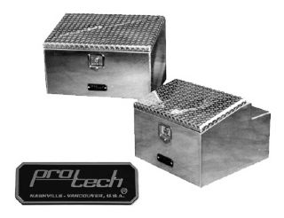 Aluminum Sloped Lid Boxes For Cab Rack Or Frame Mounting